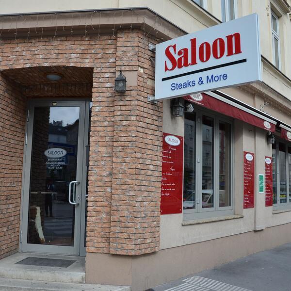 Saloon steaks and more | Unser Restaurant von außen